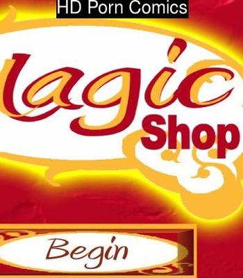 Porn Comics - Magic Shop