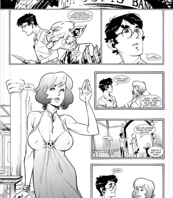 The Harry Potter Experiment 5 – The Bones Alliance comic porn sex 003