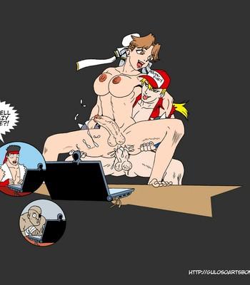 SNK VS Capcom comic porn sex 006