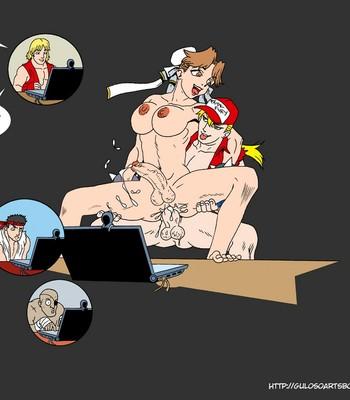 SNK VS Capcom comic porn sex 008