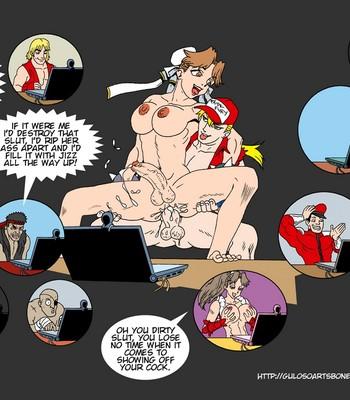 SNK VS Capcom comic porn sex 018