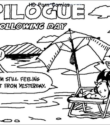 Porn Comics - Rouge's Beach Getaway – Epilogue