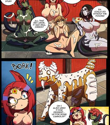 Dinner Party comic porn sex 014