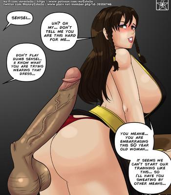 Chun-Li's Special Training comic porn sex 004