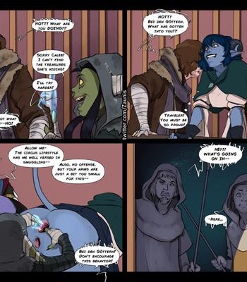 The Traveler – Jester Gets Around comic porn sex 010