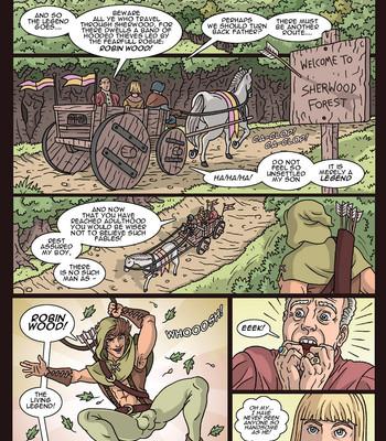 Porn Comics - Robin Wood