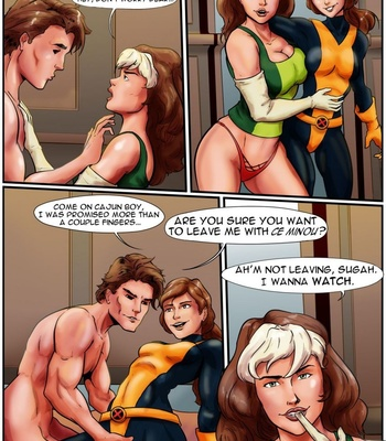 X-Men – Gold comic porn sex 002