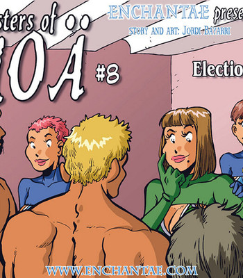 Porn Comics - Sisters Of Anoa 8 – Election