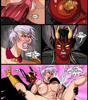 Side Dishes 5 – Futa Fighters comic porn sex 019
