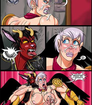Side Dishes 5 – Futa Fighters comic porn sex 020