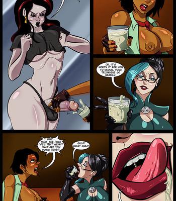 Side Dishes 5 – Futa Fighters comic porn sex 026
