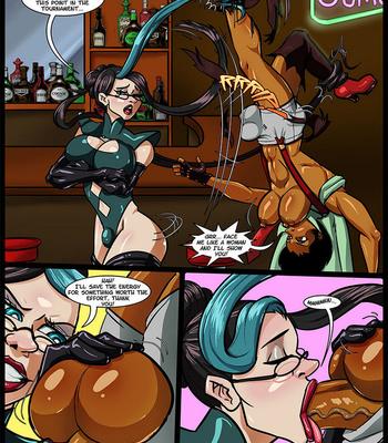 Side Dishes 5 – Futa Fighters comic porn sex 028