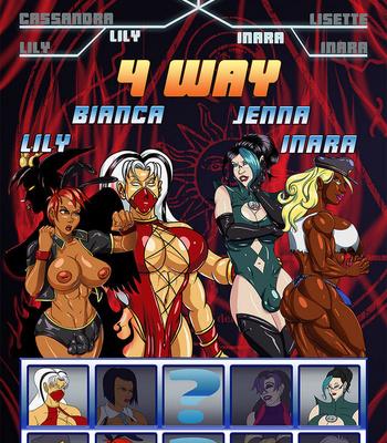 Side Dishes 5 – Futa Fighters comic porn sex 050