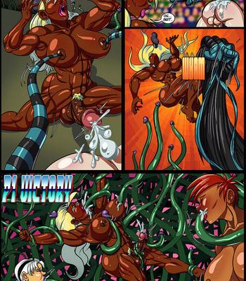 Side Dishes 5 – Futa Fighters comic porn sex 066