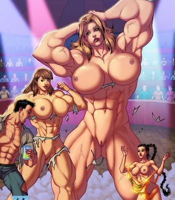 Porn Comics - The Circus Of Size 2 Sex Comic