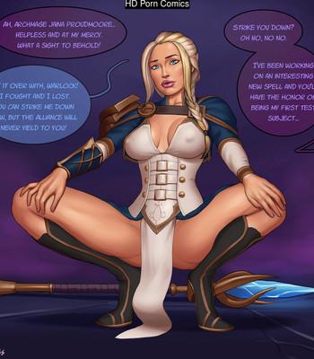 Porn Comics - Jaina Proudmoore TF
