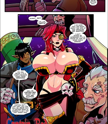 Mana World 8 – Captain Red comic porn sex 002