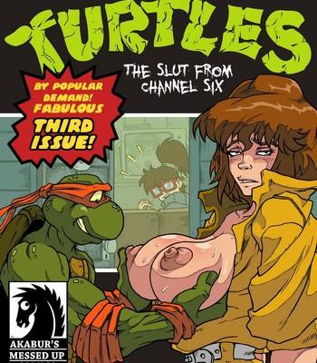 Porn Comics - The Slut From Channel Six 3 – Teenage Mutant Ninja Turtles Sex Comic