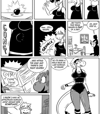 Sophie VS The Diet comic porn sex 005