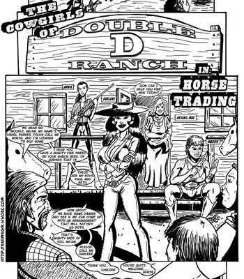 Porn Comics - The Cowgirls Of Double D Ranch – Horse Trading