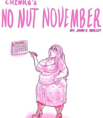 Porn Comics - Chinko's No-Nut November