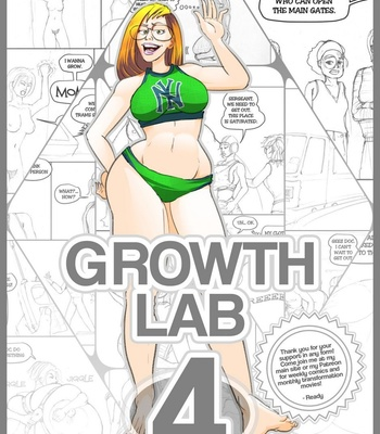 Porn Comics - Growth Lab 4 (Remastered)