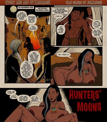 Porn Comics - Double D Ranch – Hunters' Moons