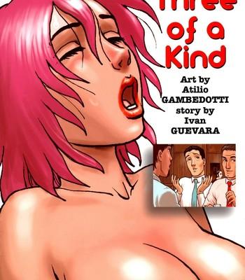 Porn Comics - Three Of A Kind Sex Comic