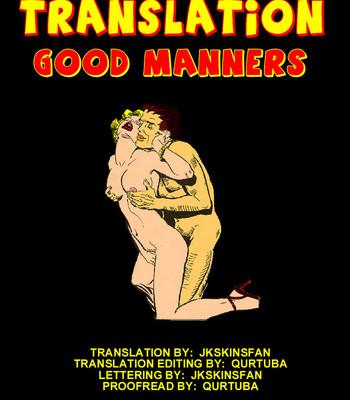Porn Comics - Good Manners