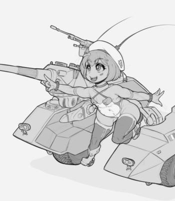 Tank Waifu Project comic porn sex 002