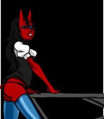 Porn Comics - Mr Invisible & The Demon