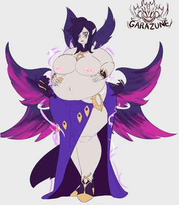 Morgana's Weight Gain comic porn sex 004