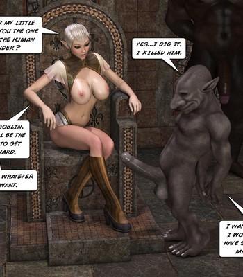 Tihanna Loves Goblins Sex Comic sex 003