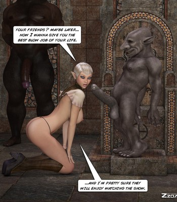 Tihanna Loves Goblins Sex Comic sex 005