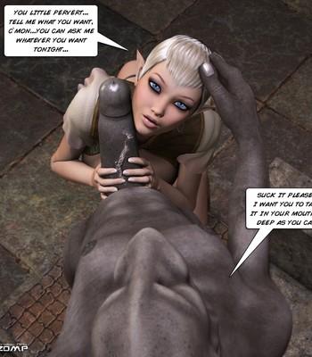 Tihanna Loves Goblins Sex Comic sex 007