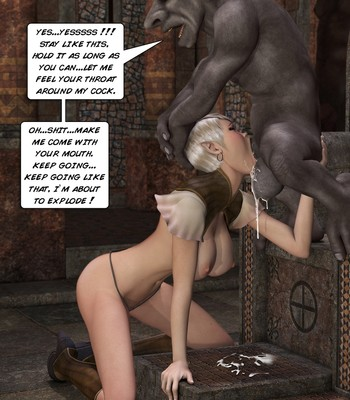 Tihanna Loves Goblins Sex Comic sex 010