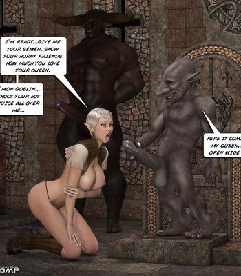 Tihanna Loves Goblins Sex Comic sex 011