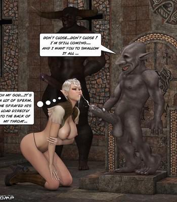 Tihanna Loves Goblins Sex Comic sex 013