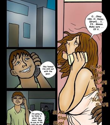 The Sleepover 3 comic porn sex 002