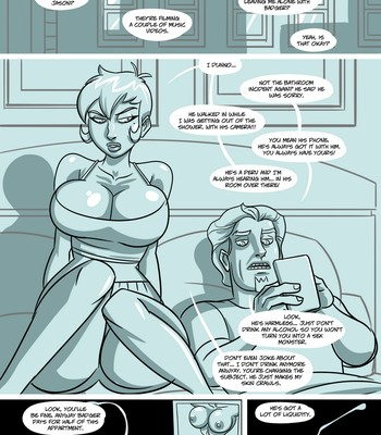 The Roommate comic porn sex 004
