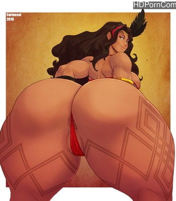 Porn Comics - Amazon Gala
