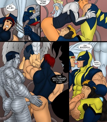 X-Men Sex Comic sex 010