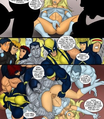 X-Men Sex Comic sex 011