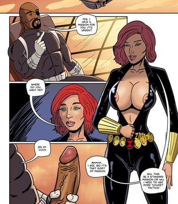 Avengers XXX – Black Ops comic porn sex 002