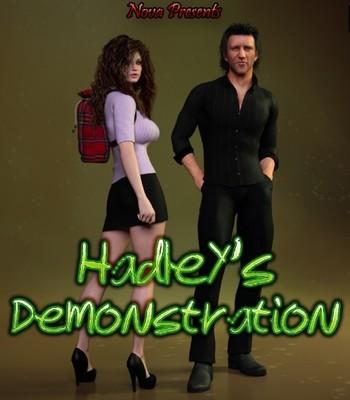 Porn Comics - Hadley's Demonstration