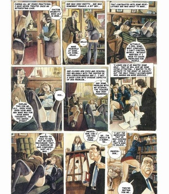 Porn Comics - The Psychiatrist