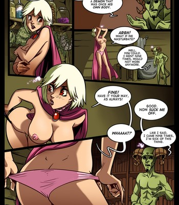 The Cummoner 6 – The Lefts And Rites Sex Comic sex 026