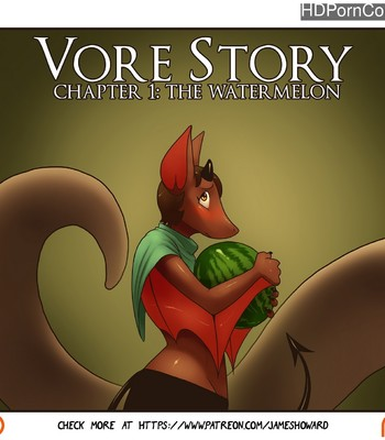 Porn Comics - Vore Story 1 – The Watermelon