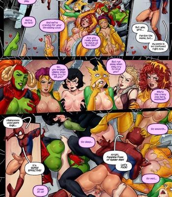 Sinful Six comic porn sex 006