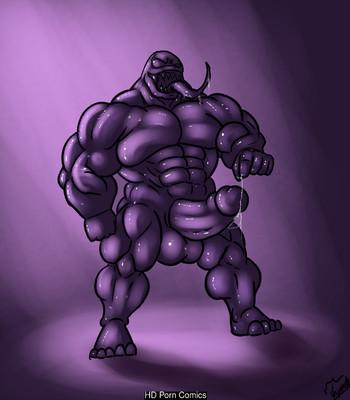 Porn Comics - Venom Destroy Cougar